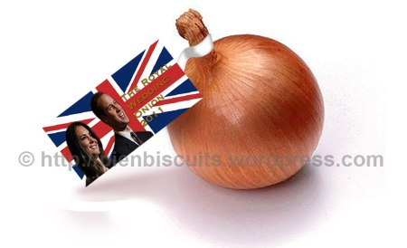 Royal wedding onion